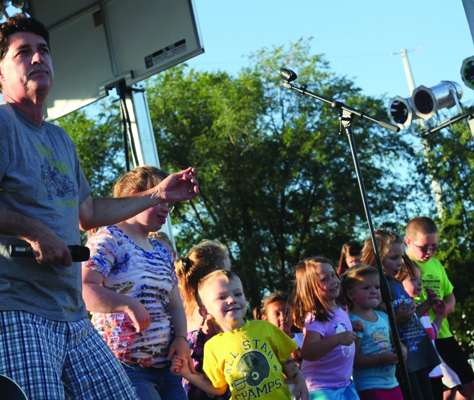 Sounds of Summer Kids Concert in Marshall MN
